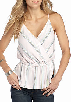 Free People Psychedelic Striped Summer Top