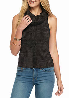 Free People Carly Cowl Solid Sweater