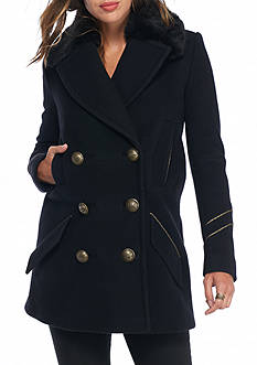 Free People Sedgwick Peacoat