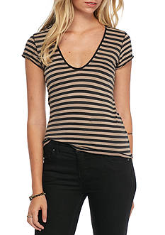 Free People Stripe Avery Tee
