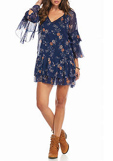 Free People Sunsetter Mini Dress