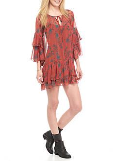 Free People Sunsetter Mini Dress