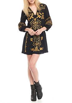 Free People Embellished Mini Dress