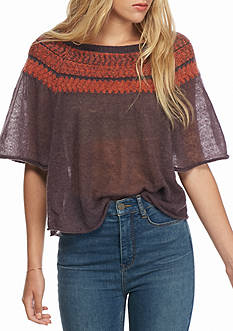 Free People Flutter Sleeve Sweater