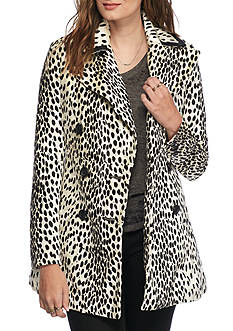Free People Printed Coat