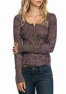 Free People Davis Printed Thermal