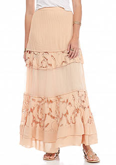 Free People To Put It Wildly Maxi Skirt