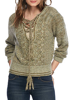 Free People Hoops and Hollas Sweater