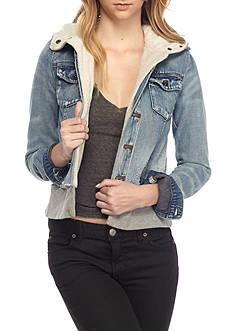 Jackets &amp Coats: Juniors Blue Jackets | Belk