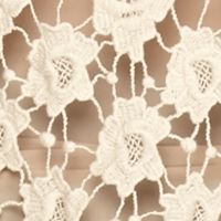 Fever Clothing: Cream Fever Crochet Pullover