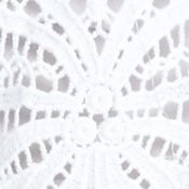 Fever Clothing: Bright White Fever Crochet Top