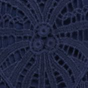 Fever Clothing: Dress Blue Fever Crochet Top