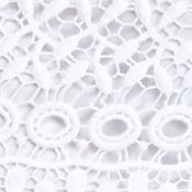 Fever: Bright White Fever Crochet Skirt
