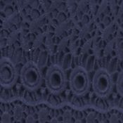 Fever Clothing: Dress Blue Fever Crochet Skirt