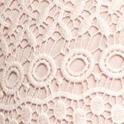 Fever Clothing: Peach Whip Fever Crochet Skirt