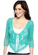 Fever Crochet Shrug