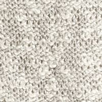 Fever Clothing: Grey/White Fever Crochet Hem Sweater