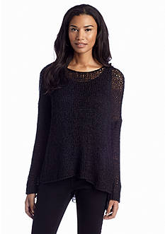 Fever Tape Yarn Chiffon Sweater