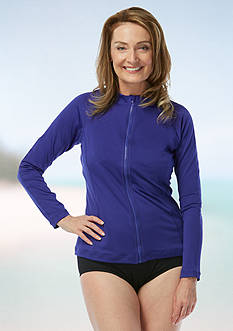 gabar Zip Front Rash Guard Jacket