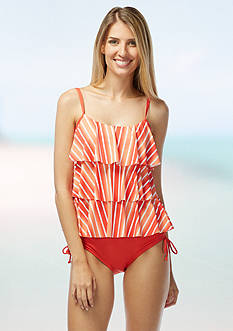 Beach House Lake Tahoe Ruffle Tankini