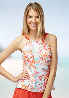Beach House Seaboard High Neckline Tankini