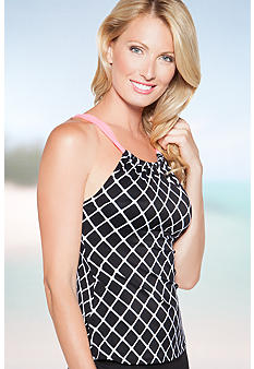 Beach House Outer Banks High Neck Tankini