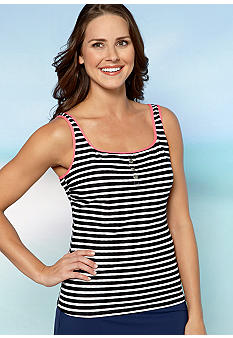 Beach House Sea Breeze Texture Tankini