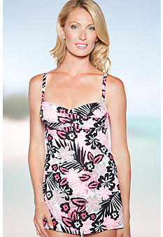 Beach House Myrtle Beach Floral Swimdress