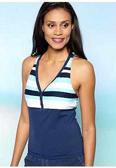 Beach House Coast Racerback Tankini