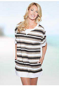 Coast Stripe Cover Up