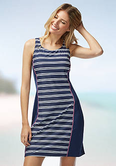 Beach House Splice Racerback Dress Cover Up