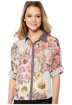 Dolled Up Floral Shirt