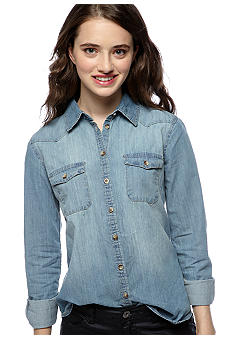 Dolled Up Chambray Shirt