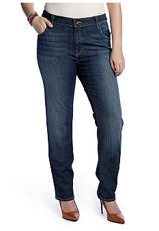 Lucky Brand Plus Size Ginger Straight Leg Jean