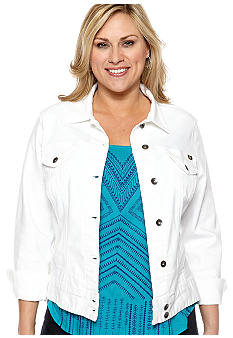 Lucky Brand Plus Size Denim Jacket
