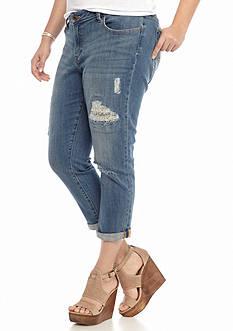 Lucky Brand Plus Size Georgia Boyfriend Jeans