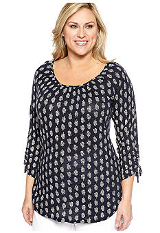 Lucky Brand Plus Size Knit Top