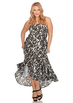 Lucky Brand Plus Size Tropical Night Dress