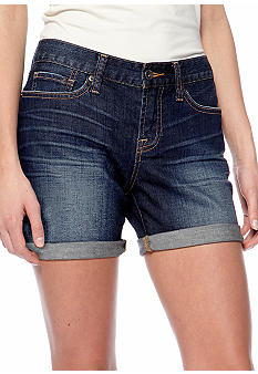 Lucky Brand Abbey Double Rolled Denim Short