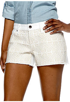 Lucky Brand Riley Short with Fine Stitch Detail