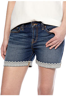 Lucky Brand Abbey Lace Cuff Short