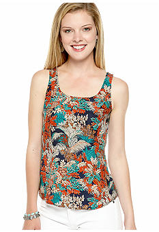 Lucky Brand Jungle Print Tank