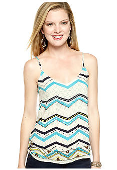 Lucky Brand Bead Embellished Tank Top