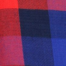 Lucky Brand: Navy Multi Lucky Brand Bungalow Plaid Shirt
