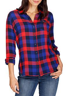 Lucky Brand Bungalow Plaid Shirt