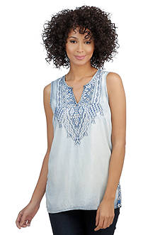 Lucky Brand Tencel® Embroidered Tank