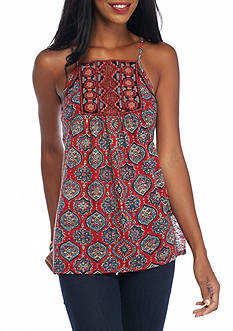 Lucky Brand Jeans Embroidered Cami