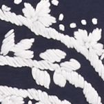 Lucky Brand Women Sale: Navy Multi. Lucky Brand Embroidered Top