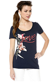 Lucky Brand Love Message Tee
