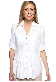 Spense Pleat Front Shirt